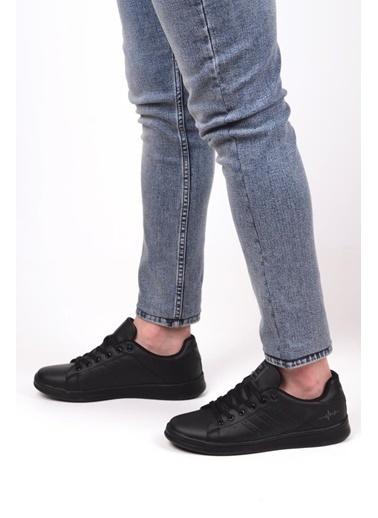 Bestof 041 Erkek Günlük Sneaker Spor Ayakkabı Siyah